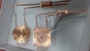 无氧铜冷却水道钎焊